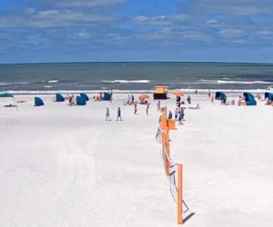clear water beach webcam