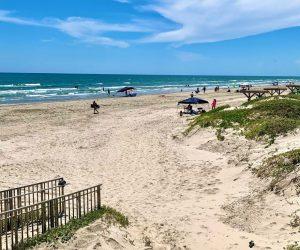 texas beach webcams